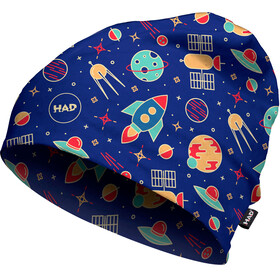 HAD Printed Fleece Beanie Kids rocket